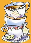 Mother's Day Card-Tea With Mother Card